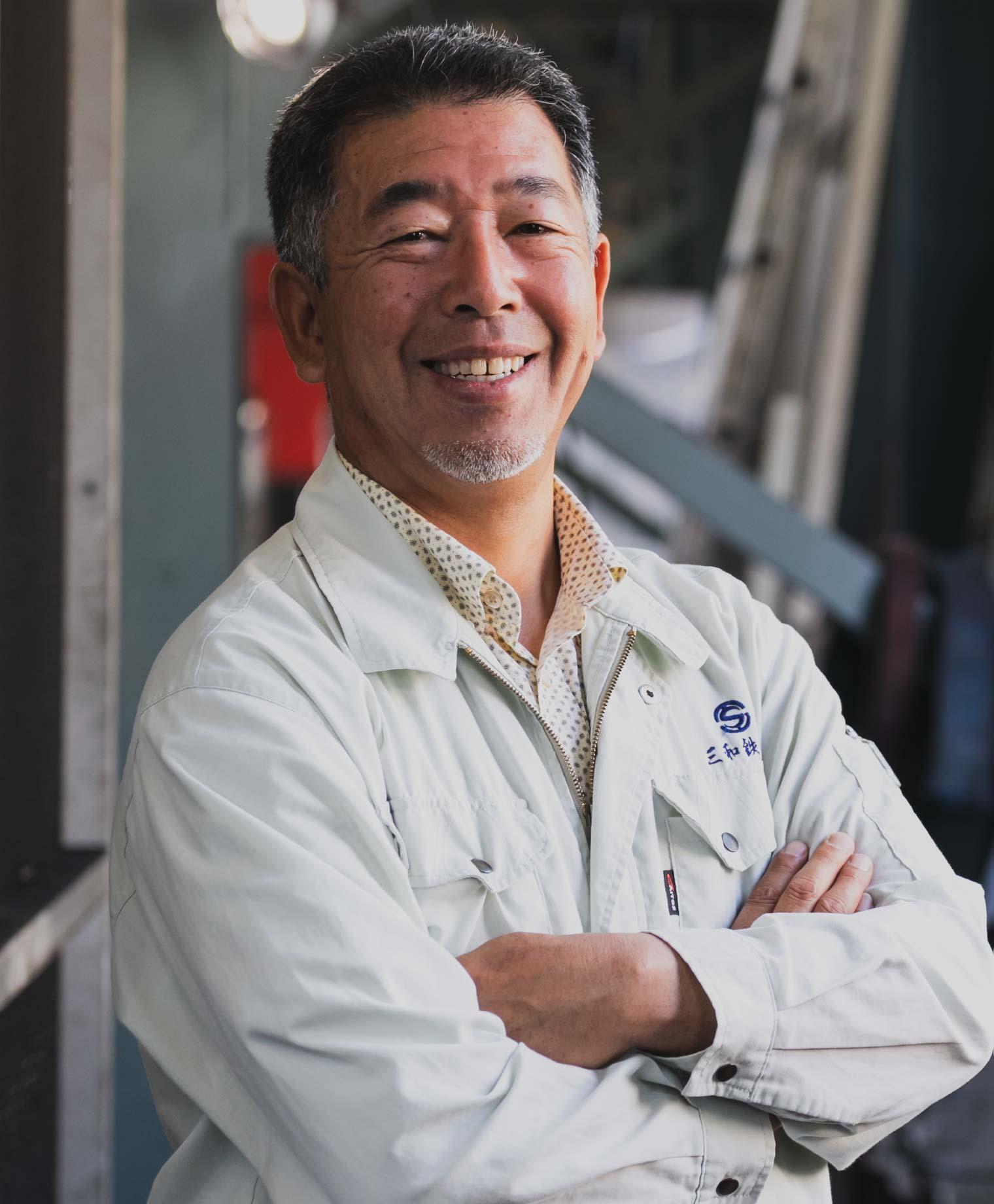 代表取締役社長 鎌田 和也